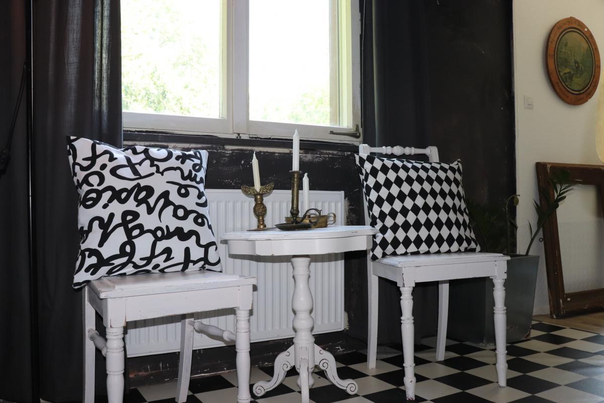 große schwarz weiss Liebe ♥ | Villa Schönsinn. Atelier, mehr Wohnen.
