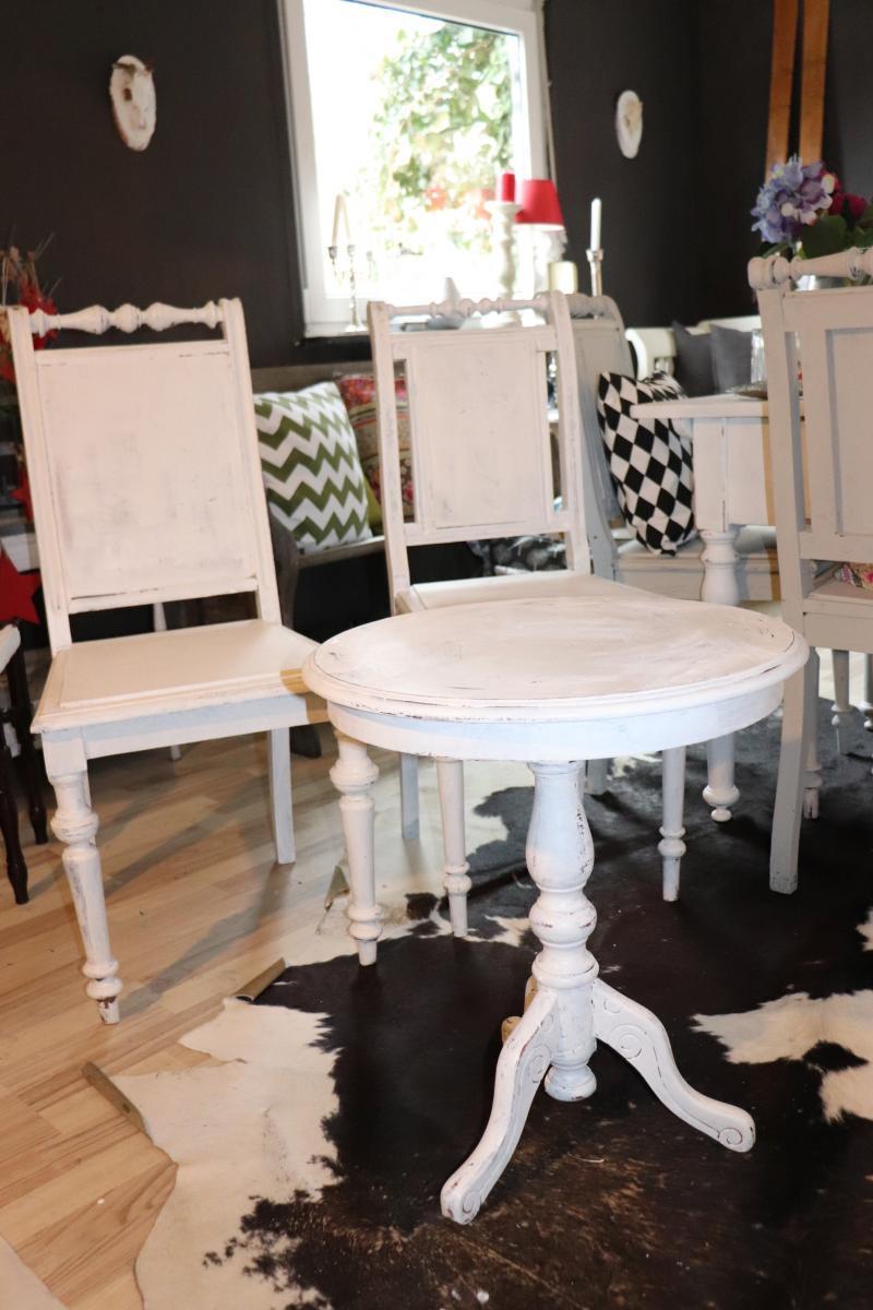 Tischchen im Shabby Chic- Hilda | Villa Schönsinn. Atelier, mehr Wohnen.