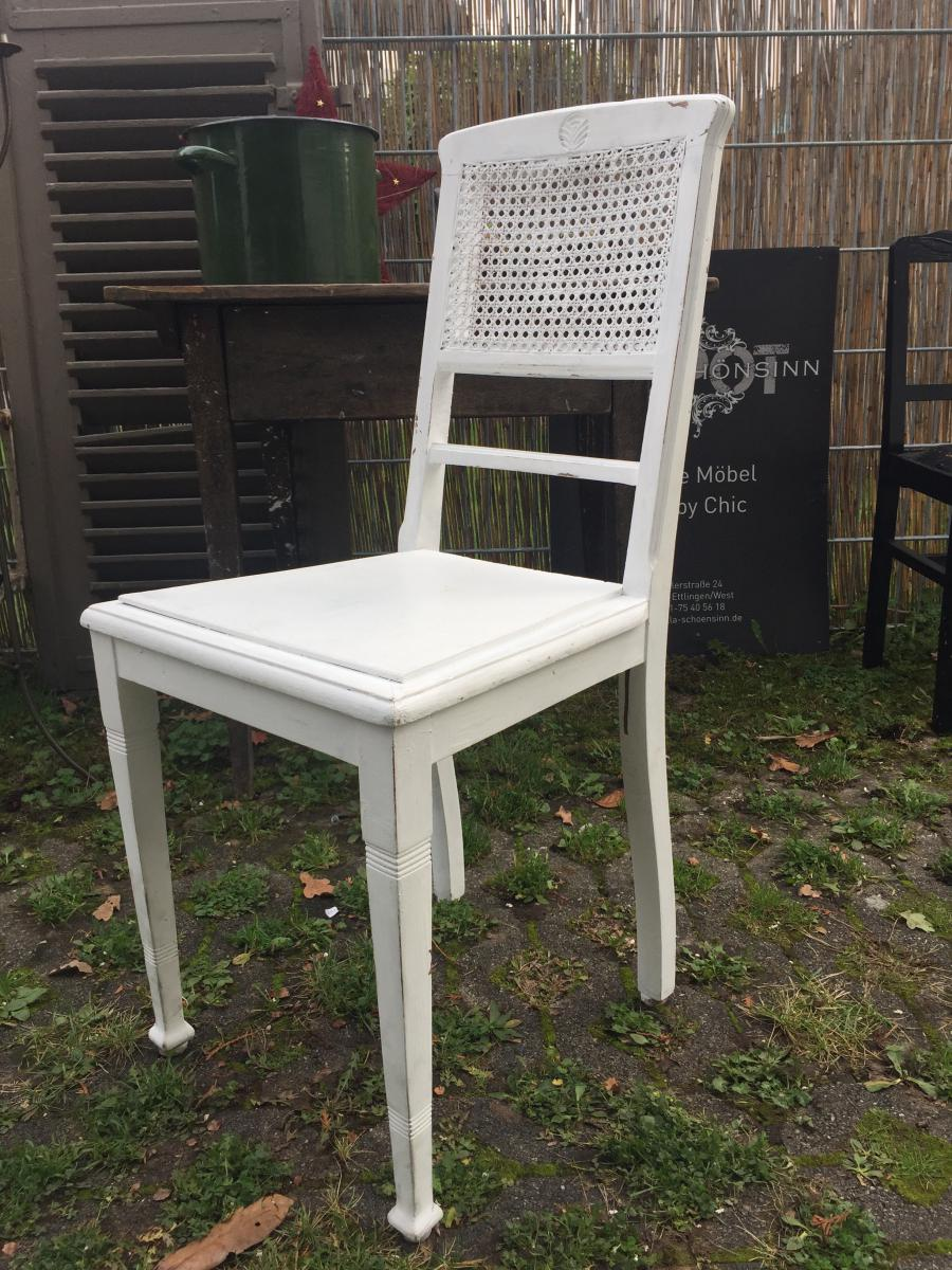 shabby chic stuhl je 9k villa sch nsinn atelier mehr wohnen. Black Bedroom Furniture Sets. Home Design Ideas
