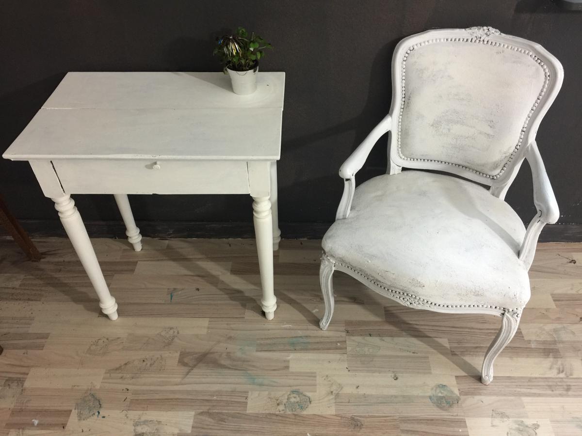 kleines Tischchen im Shabby Chic, *Minna*   Villa Schönsinn. Atelier ...