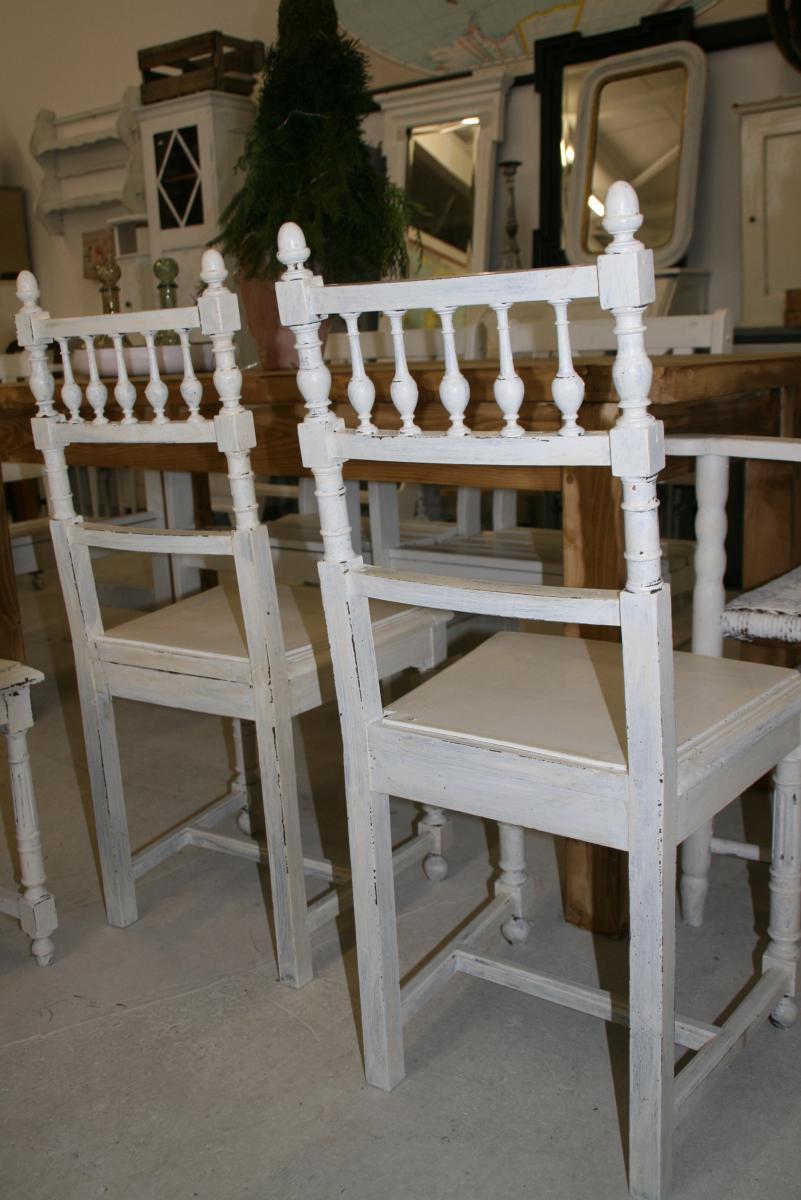2 st hle im shabby chic elenor villa sch nsinn atelier mehr wohnen. Black Bedroom Furniture Sets. Home Design Ideas